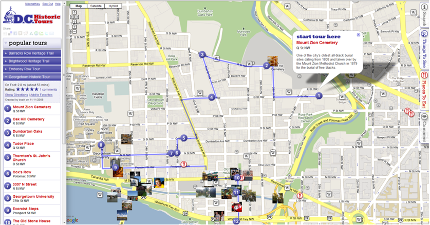 D.C. Historic Tours on City-Go-Round on
