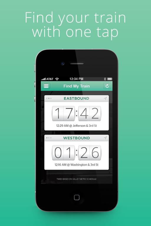 Find My Train Phoenix Light Rail Iphone App On City Go Round