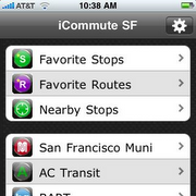 icommute-sf screen shot