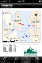 Wsf Puget Sound Ferry Schedule On City Go Round