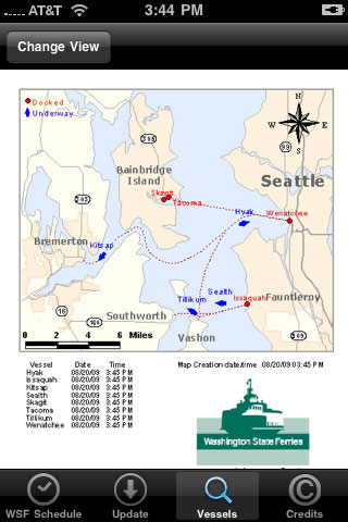 Wsf Puget Sound Ferry Schedule On City Go Round